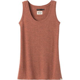Prana Cozy Up Tanktop Dames, liqueur heather